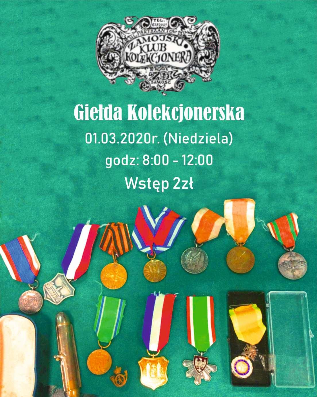 gielda kolekcjonerska 1 marca Raj dla kolekcjonerów w ZDK-u