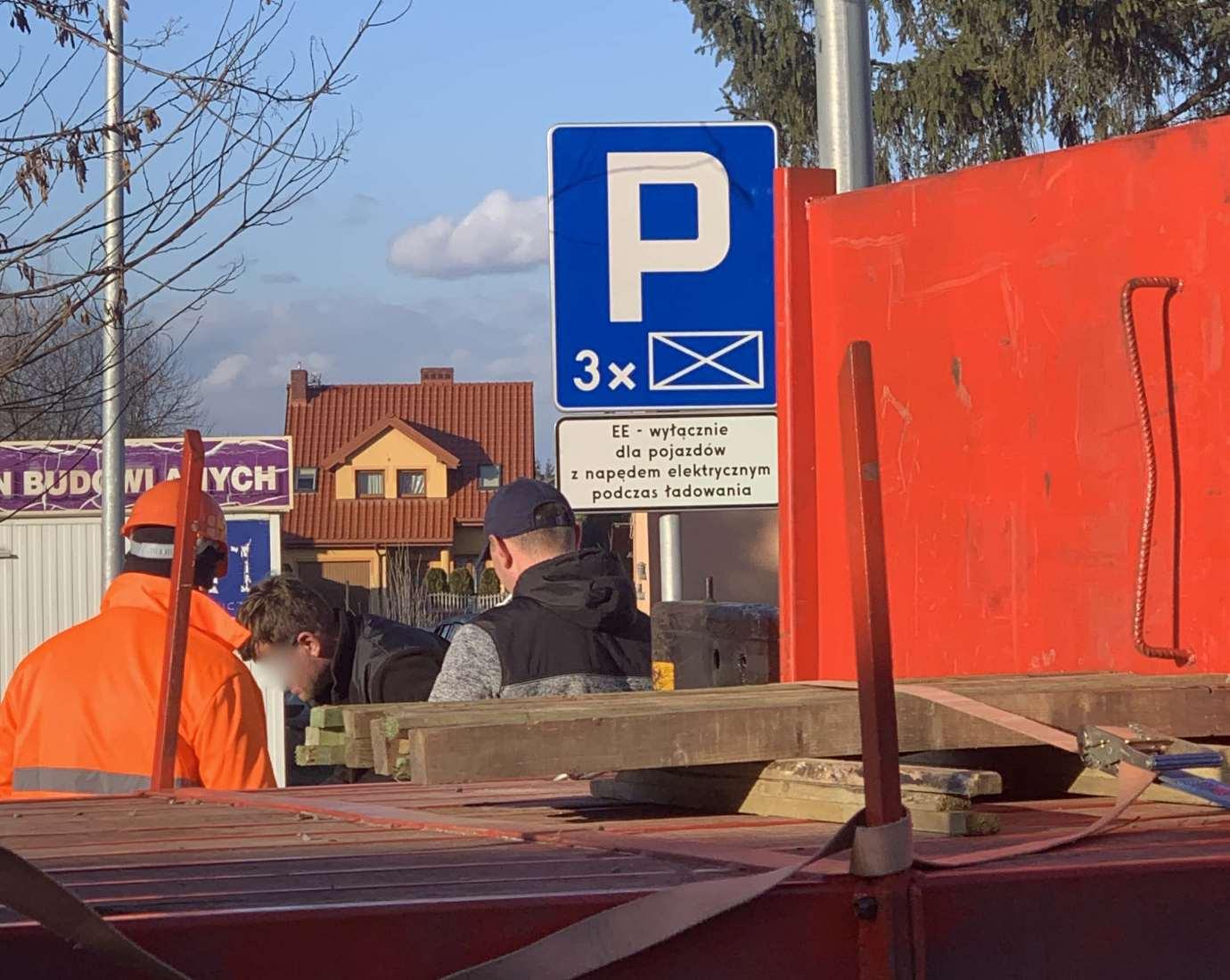 img 6449 W Zamościu powstaje nowa stacja ładowania samochodów elekrycznych