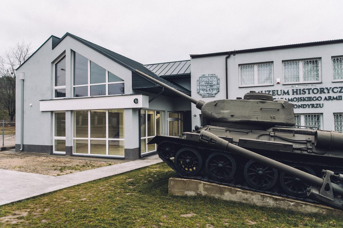 muzeum bondyrz ns 3 Zakończenie rozbudowy Muzeum w Bondyrzu