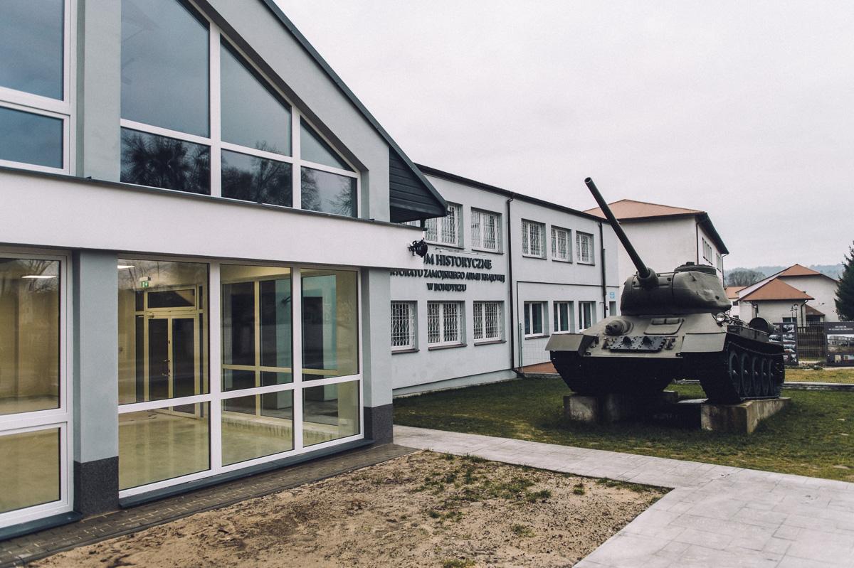 muzeum bondyrz ns 4 Zakończenie rozbudowy Muzeum w Bondyrzu