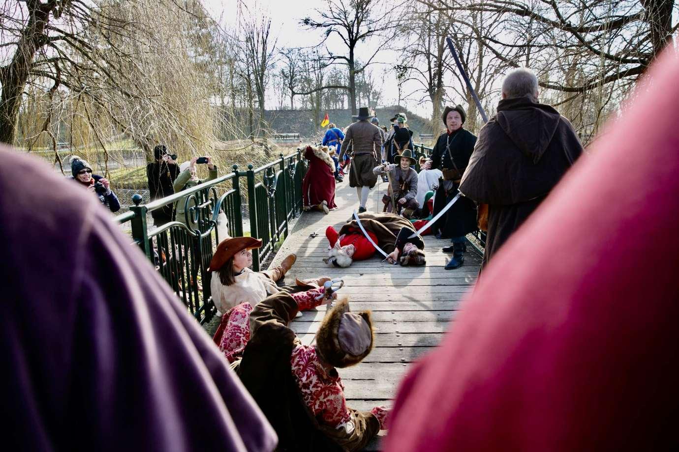 szturm park miejski 74 Szwedzi pod Zamościem – zimowa potyczka o twierdzę