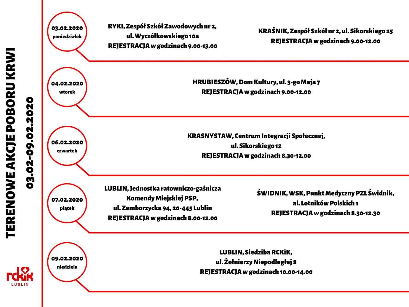 terenowe akcje 03 09 02 20 Podziel się życiodajnym płynem. Terenowe akcje poboru krwi w naszym regionie