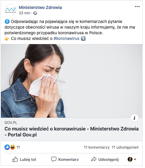 zrzut ekranu 2020 02 27 o 12 38 57 PILNE! Koronawirus w Polsce. Zarażona kobieta przebywa w łódzkim szpitalu