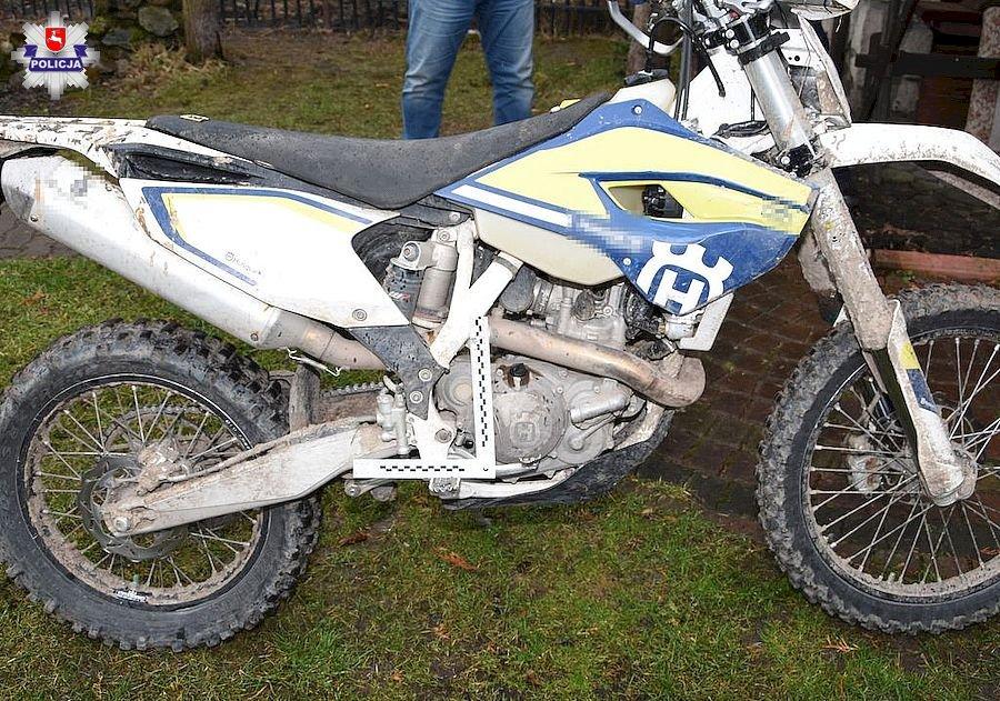 68 163834 Wypadek motocyklisty