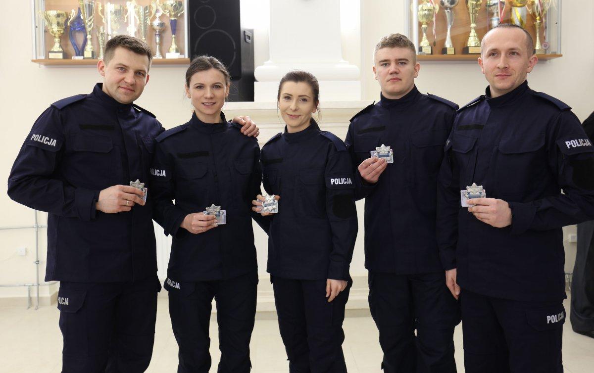 68 164250 g Mamy nowych policjantów. [ZDJĘCIA]
