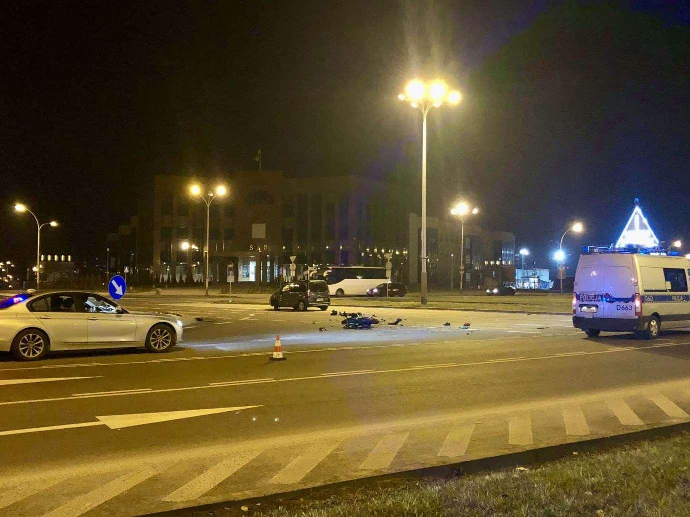 89038809 1322074534669258 8476496014562295808 n Z ostatniej chwili: Wypadek z udzialem motocyklisty (zdjęcia)