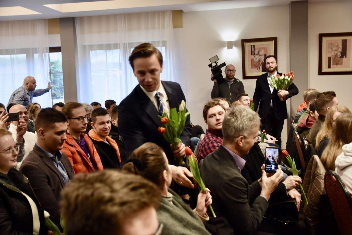 dsc 6653 Krzysztof Bosak w Zamościu. Zdjęcia i film