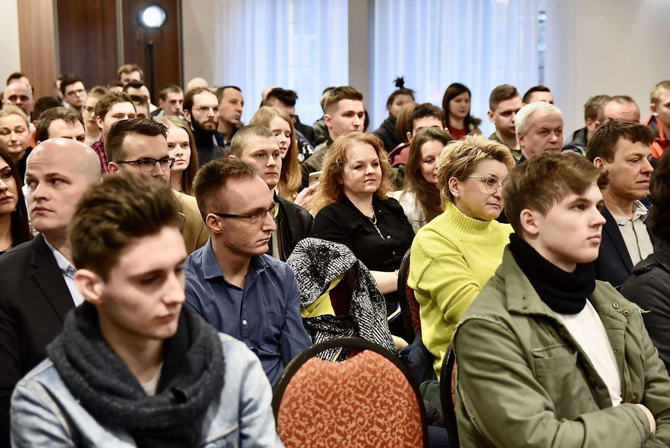 dsc 6679 Krzysztof Bosak w Zamościu. Zdjęcia i film