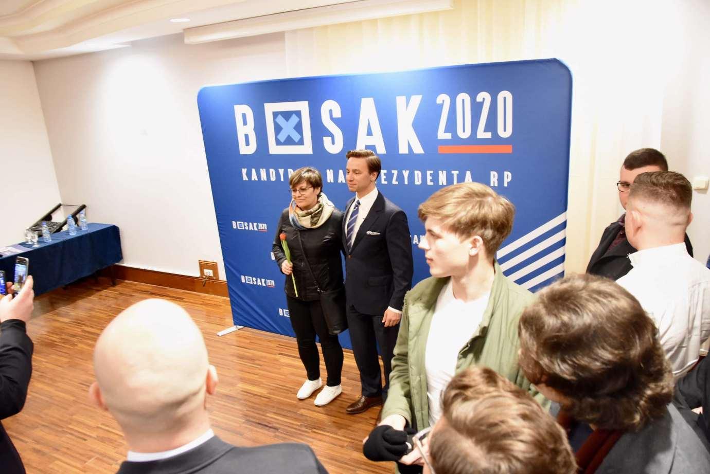 dsc 6711 Krzysztof Bosak w Zamościu. Zdjęcia i film
