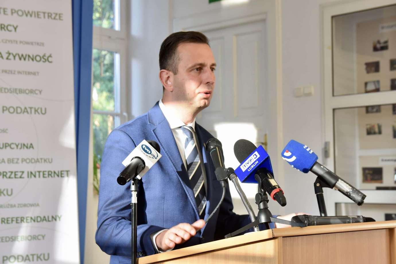 dsc 7281 2 Czy są tu sympatycy Władysława Kosiniaka-Kamysza? Spotkania z kandydatem w Zamościu i okolicy.