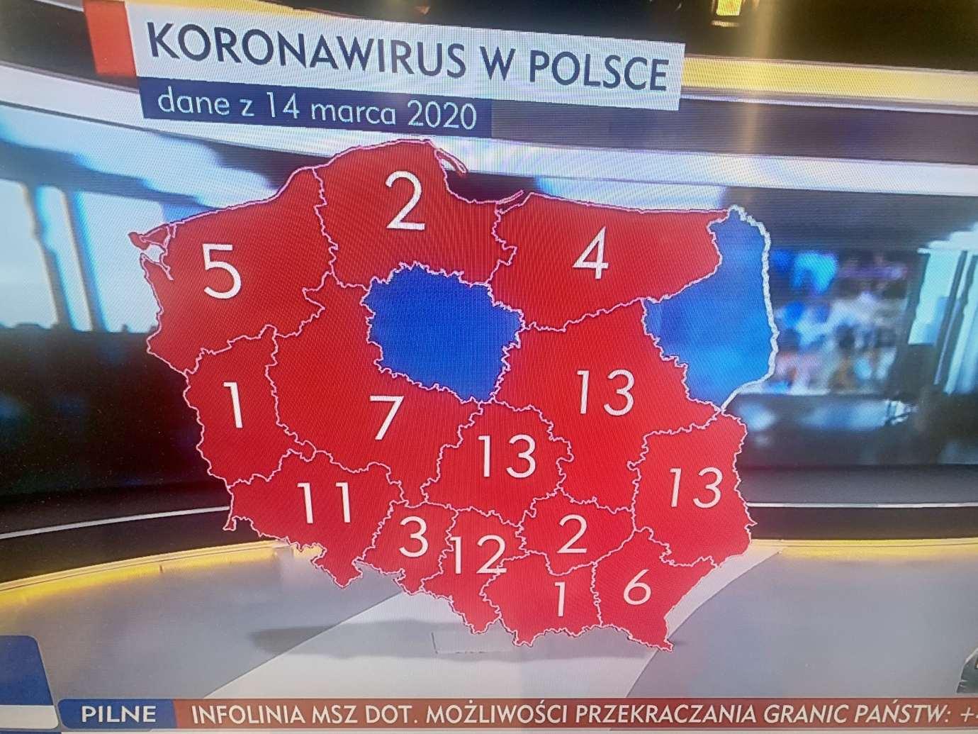 img 1059 Stan na godzinę 15.00: Polska 93, Lubelskie 13, Biłgoraj 1 osoba zarażona koronawirusem