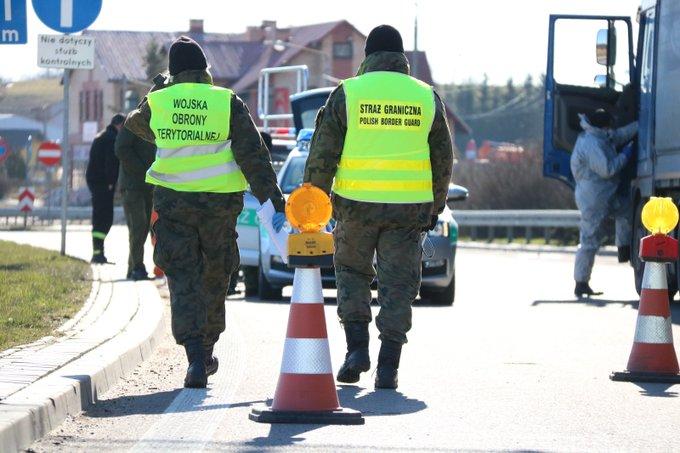 wot i straz graniczna 1 Lubelscy Terytorialsi w walce z koronawirusem