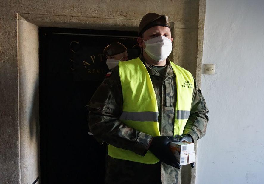 wot wsparcie kombatantow 2 Lubelscy Terytorialsi w walce z koronawirusem