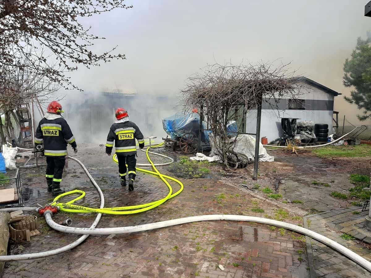 20200415 100256 Pożar w Sitańcu - znamy szczegóły
