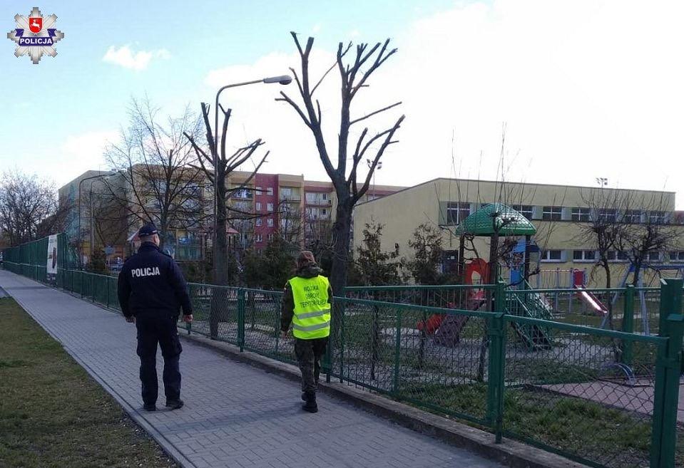 68 165704 Policja, Żandarmeria Wojskowa, WOT i Straż Miejska w walce o bezpieczeństwo (zdjęcia)