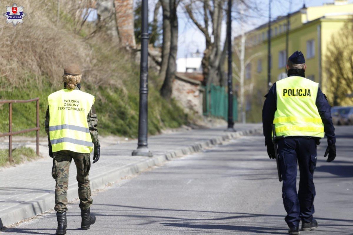 68 165713 Policja, Żandarmeria Wojskowa, WOT i Straż Miejska w walce o bezpieczeństwo (zdjęcia)