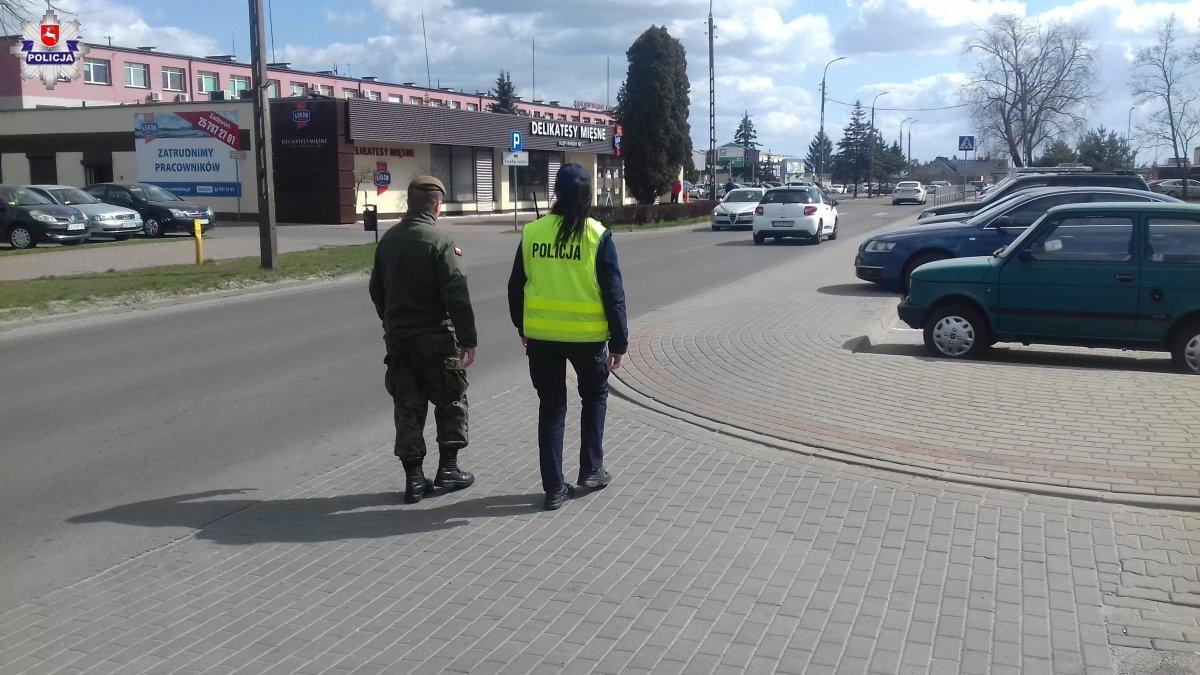68 165717 Policja, Żandarmeria Wojskowa, WOT i Straż Miejska w walce o bezpieczeństwo (zdjęcia)