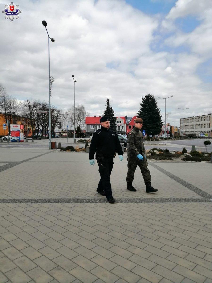 68 165718 Policja, Żandarmeria Wojskowa, WOT i Straż Miejska w walce o bezpieczeństwo (zdjęcia)