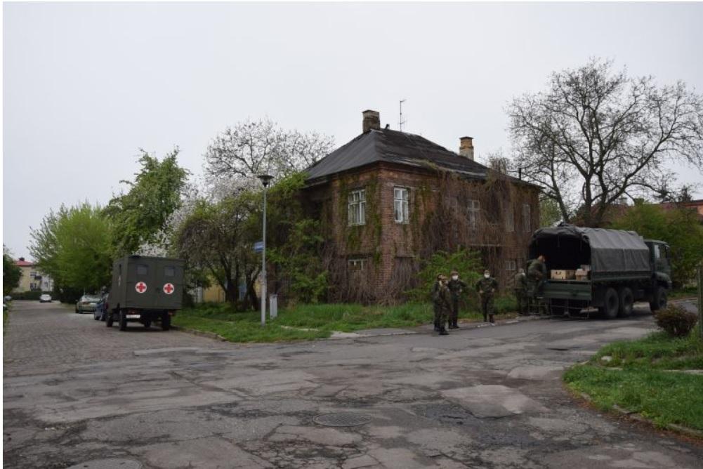 dps radziecka 2 Zamość: Trwa odkażanie DPS-u przy ul. Radzieckiej