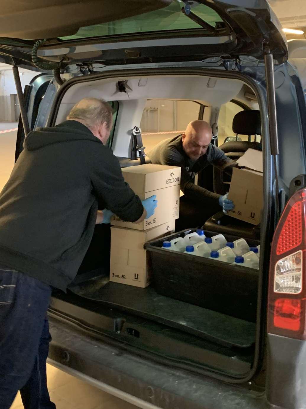 img 0223 Samorząd woj. lubelskiego zakupił płyn dezynfekcyjny dla podległych sobie szpitali