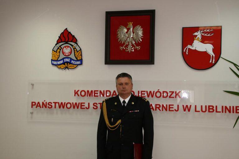 Zmiany w dowództwie strażaków z Zamościa i Tomaszowa