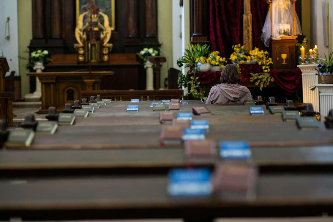 kosciol rektoralny pw sw katarzyny w zamosciu 2 Zdjęcia grobów pańskich w zamojskich świątyniach