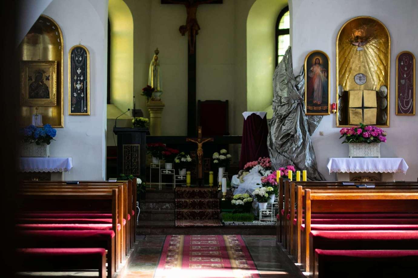 kosciol rektoralny redemptorystow pw sw mikolaja w zamosciu 2a Zdjęcia grobów pańskich w zamojskich świątyniach