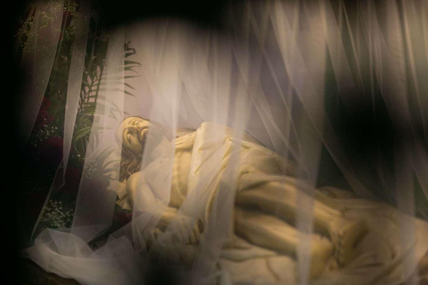 parafia katedralna zmartwychwstania panskiego i sw tomasza apostola w zamosciu 2a Zdjęcia grobów pańskich w zamojskich świątyniach