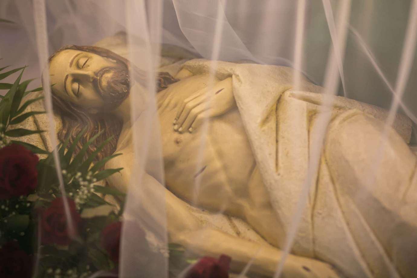 parafia katedralna zmartwychwstania panskiego i sw tomasza apostola w zamosciu 3a Zdjęcia grobów pańskich w zamojskich świątyniach