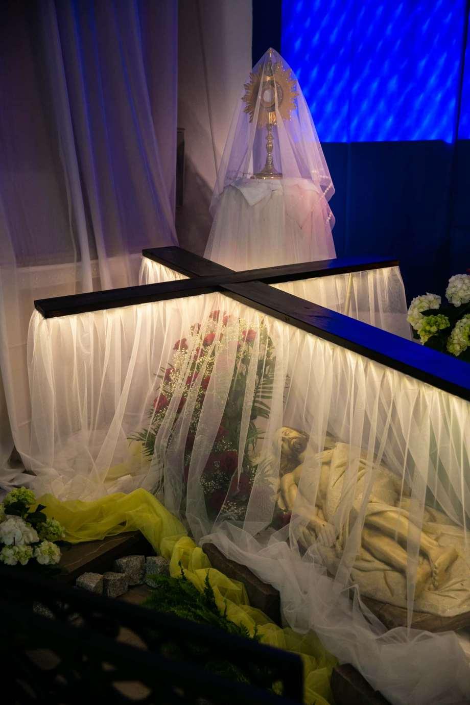 parafia katedralna zmartwychwstania panskiego i sw tomasza apostola w zamosciu 5 Zdjęcia grobów pańskich w zamojskich świątyniach