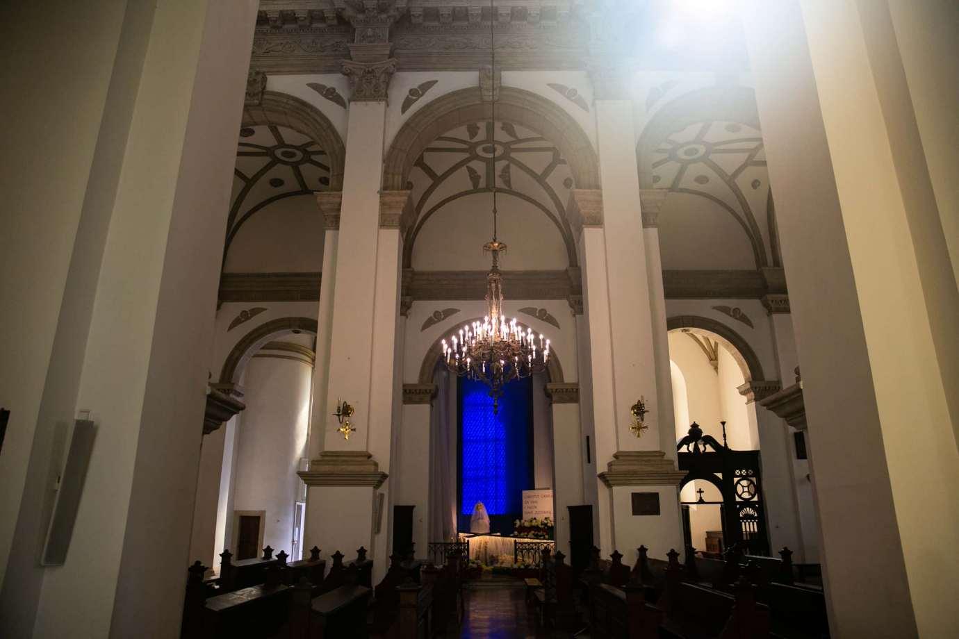 parafia katedralna zmartwychwstania panskiego i sw tomasza apostola w zamosciu 8 Zdjęcia grobów pańskich w zamojskich świątyniach