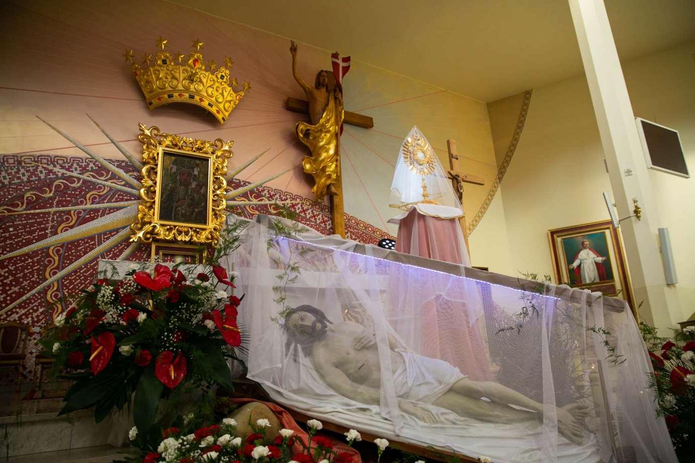 parafia pw matki bozej krolowej polski w zamosciu 11 Zdjęcia grobów pańskich w zamojskich świątyniach