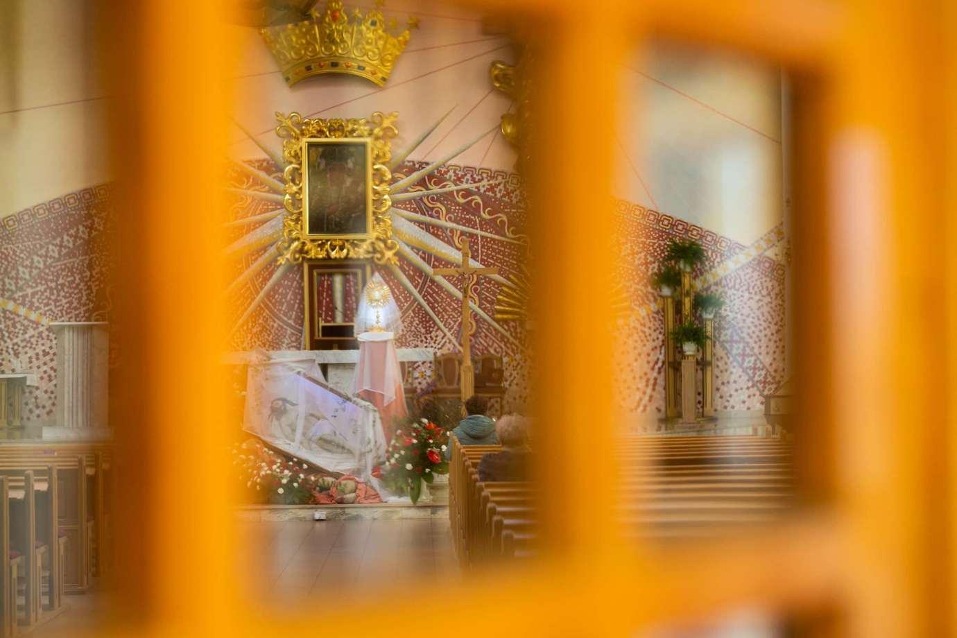parafia pw matki bozej krolowej polski w zamosciu 15a Zdjęcia grobów pańskich w zamojskich świątyniach