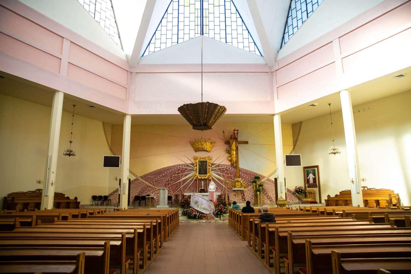 parafia pw matki bozej krolowej polski w zamosciu 5 Zdjęcia grobów pańskich w zamojskich świątyniach