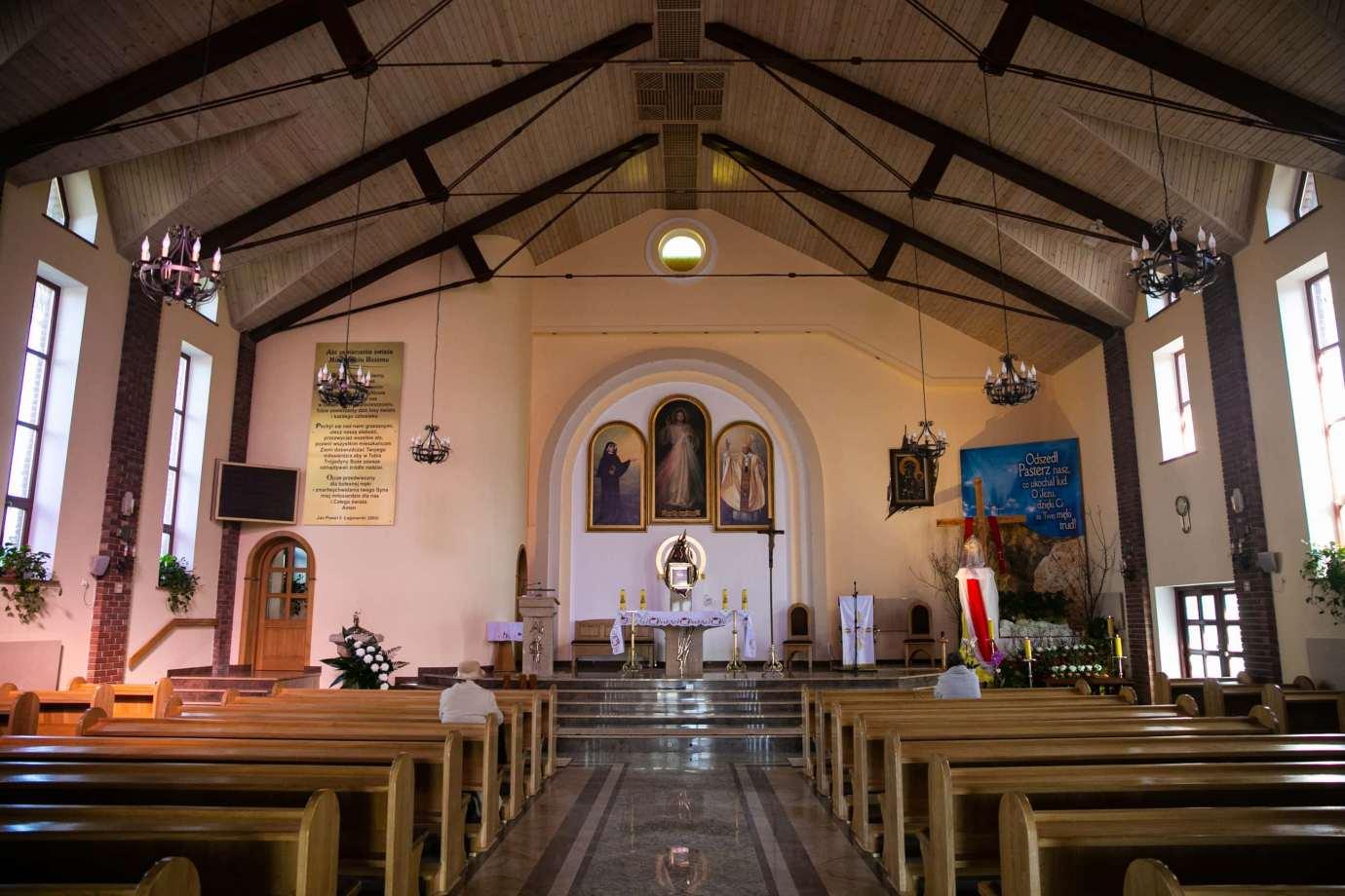 parafia pw milosierdzia bozego w zamosciu 3 Zdjęcia grobów pańskich w zamojskich świątyniach