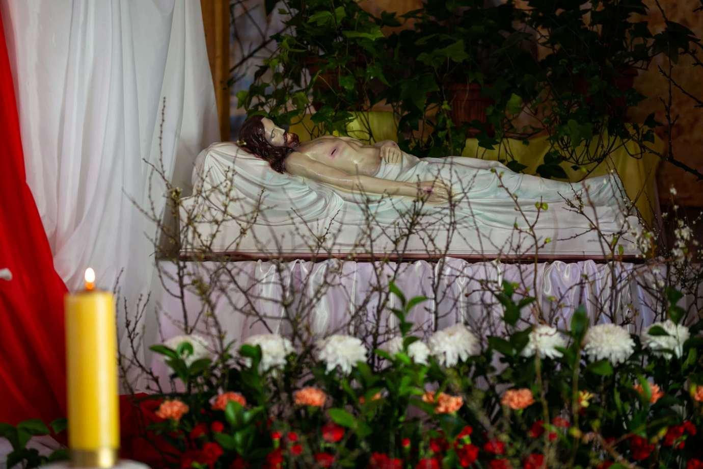 parafia pw milosierdzia bozego w zamosciu 6a Zdjęcia grobów pańskich w zamojskich świątyniach