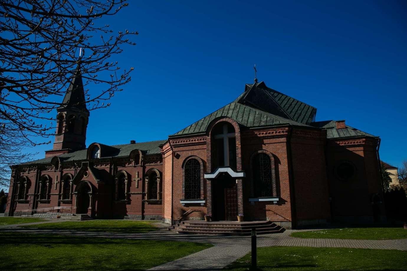 parafia pw sw michala archaniola w zamosciu 1 Zdjęcia grobów pańskich w zamojskich świątyniach