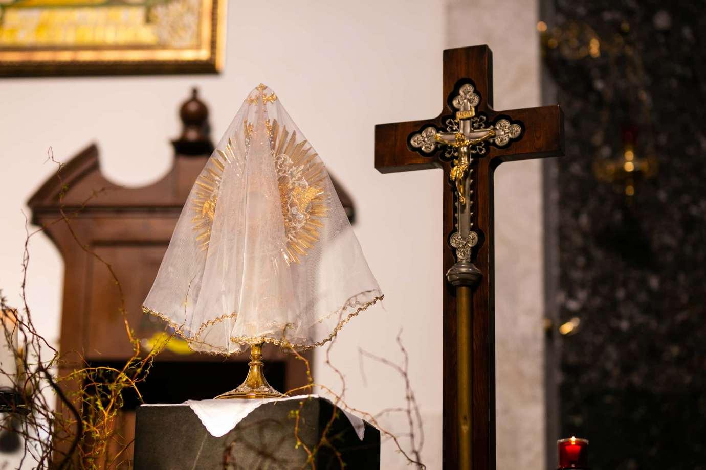 parafia pw sw michala archaniola w zamosciu 11 Zdjęcia grobów pańskich w zamojskich świątyniach