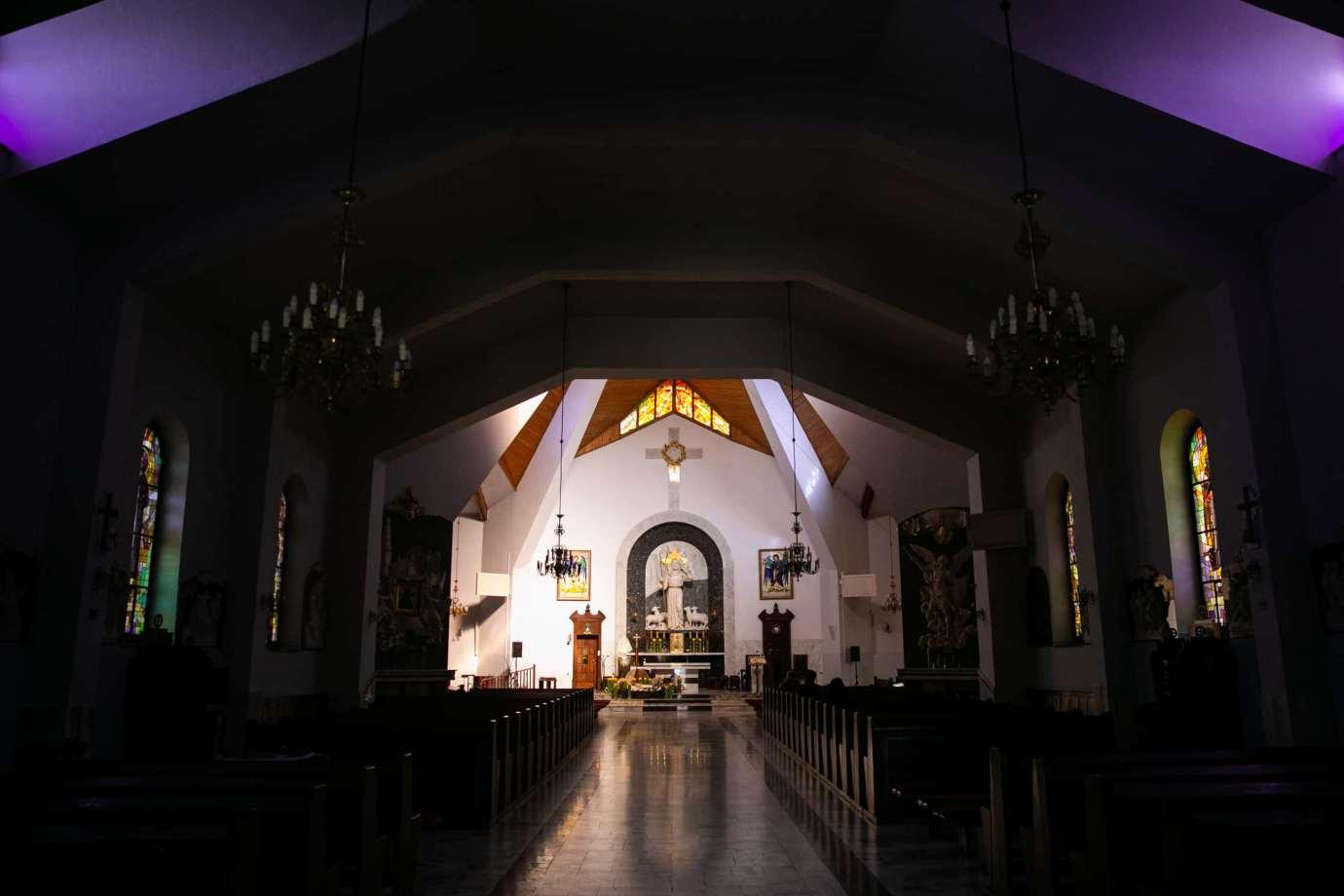 parafia pw sw michala archaniola w zamosciu 3 Zdjęcia grobów pańskich w zamojskich świątyniach