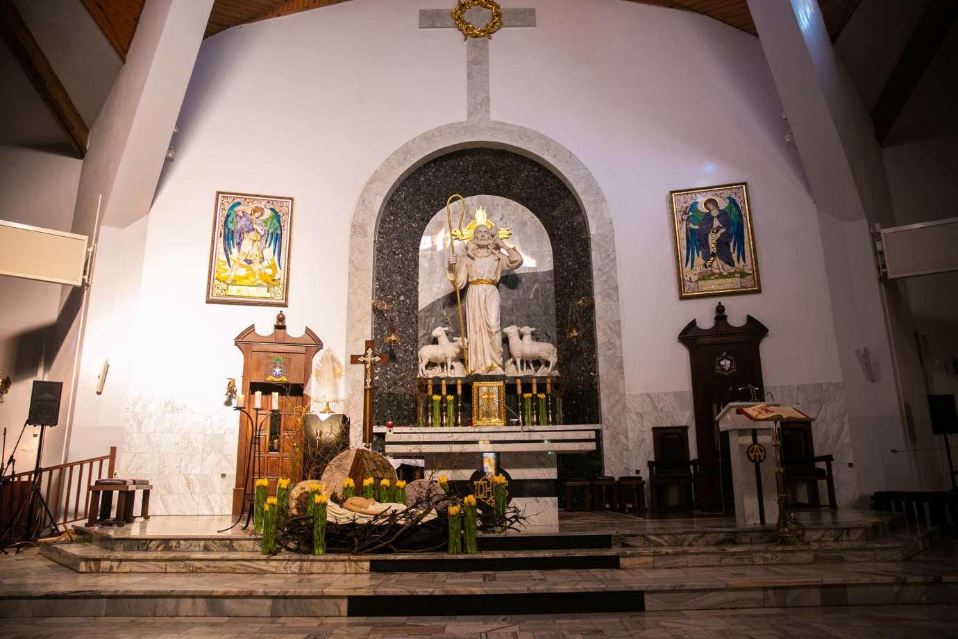 parafia pw sw michala archaniola w zamosciu 4 Zdjęcia grobów pańskich w zamojskich świątyniach