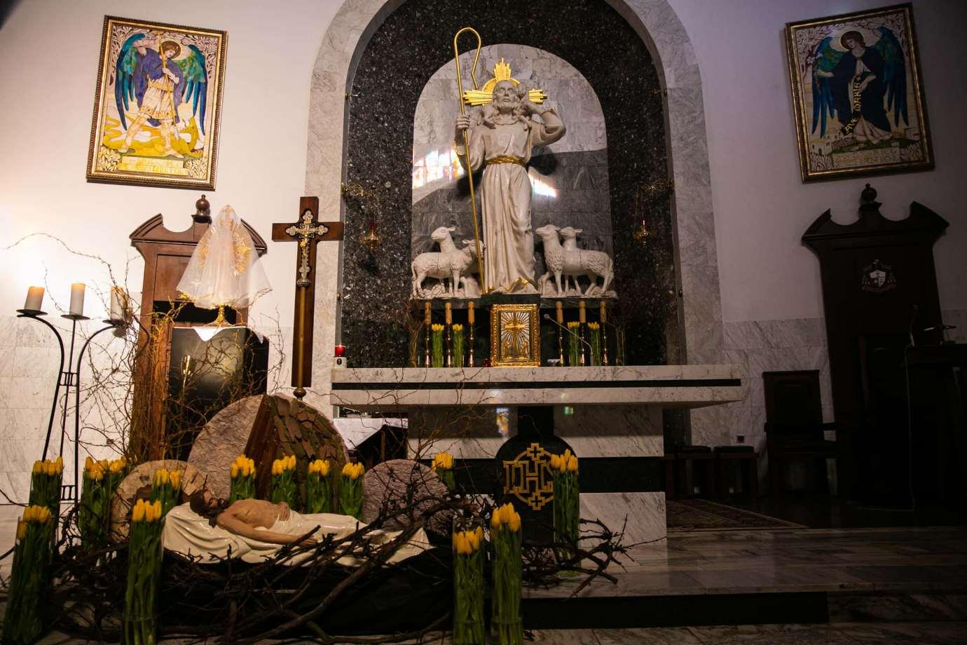 parafia pw sw michala archaniola w zamosciu 5 Zdjęcia grobów pańskich w zamojskich świątyniach