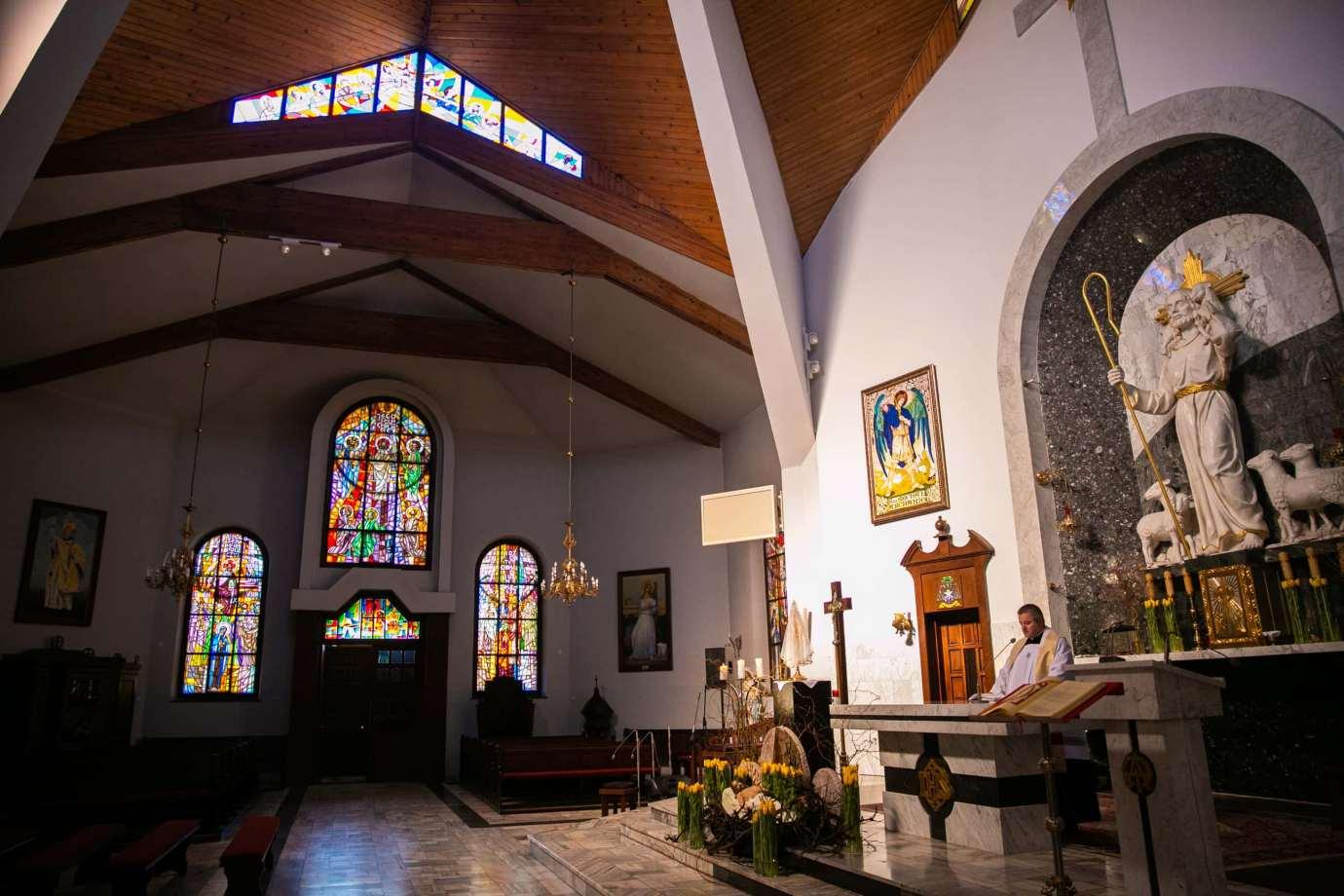 parafia pw sw michala archaniola w zamosciu 6 Zdjęcia grobów pańskich w zamojskich świątyniach