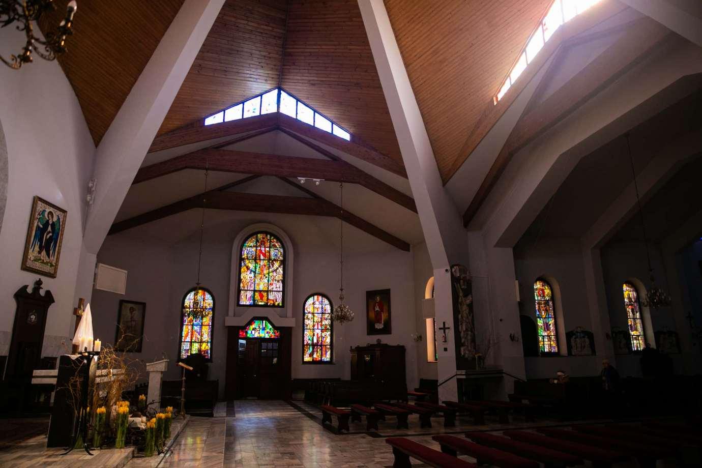 parafia pw sw michala archaniola w zamosciu 7 Zdjęcia grobów pańskich w zamojskich świątyniach