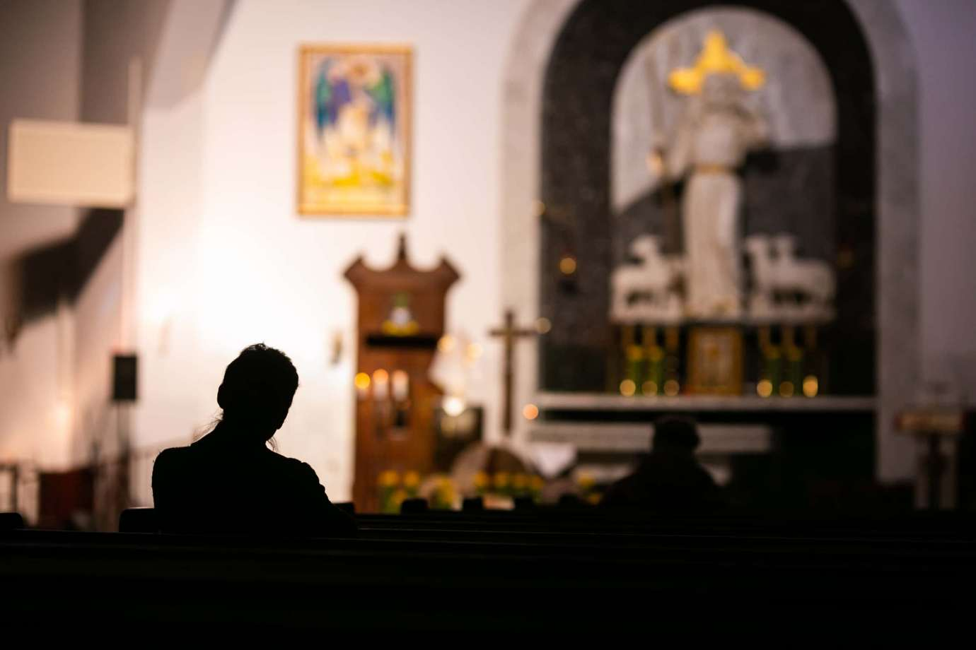 parafia pw sw michala archaniola w zamosciu 8 Zdjęcia grobów pańskich w zamojskich świątyniach