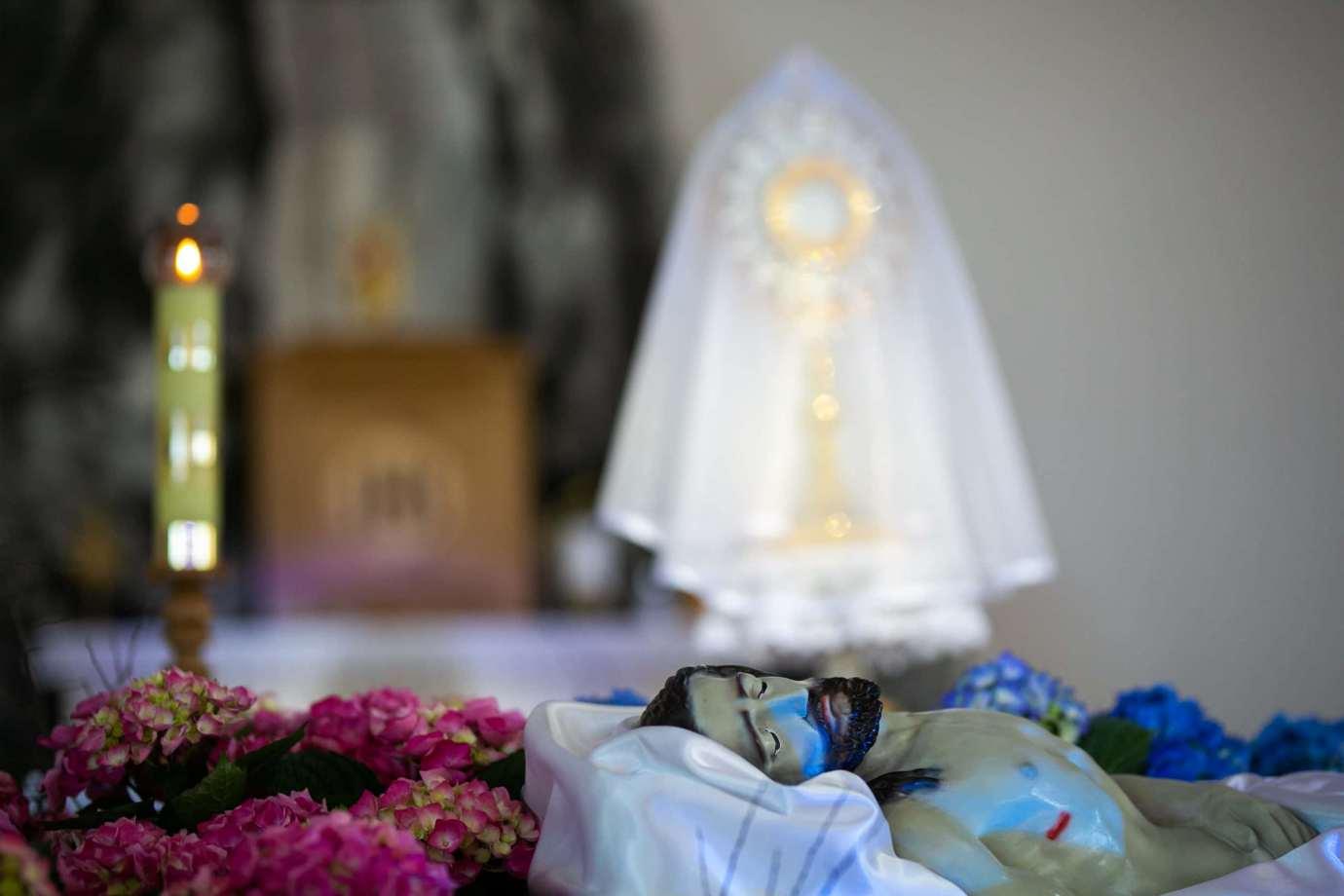 parafia pw swietego brata alberta w zamosciu 11 Zdjęcia grobów pańskich w zamojskich świątyniach