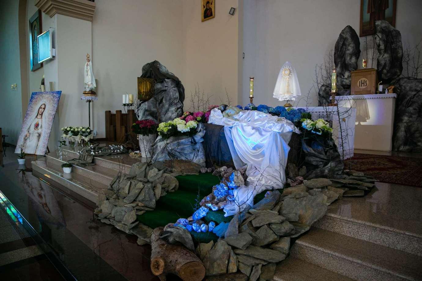 parafia pw swietego brata alberta w zamosciu 14 Zdjęcia grobów pańskich w zamojskich świątyniach