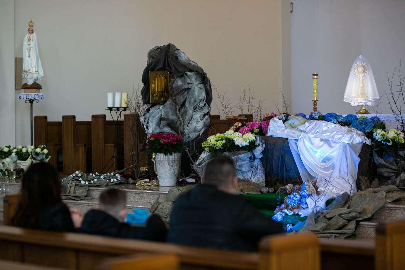 parafia pw swietego brata alberta w zamosciu 2 Zdjęcia grobów pańskich w zamojskich świątyniach