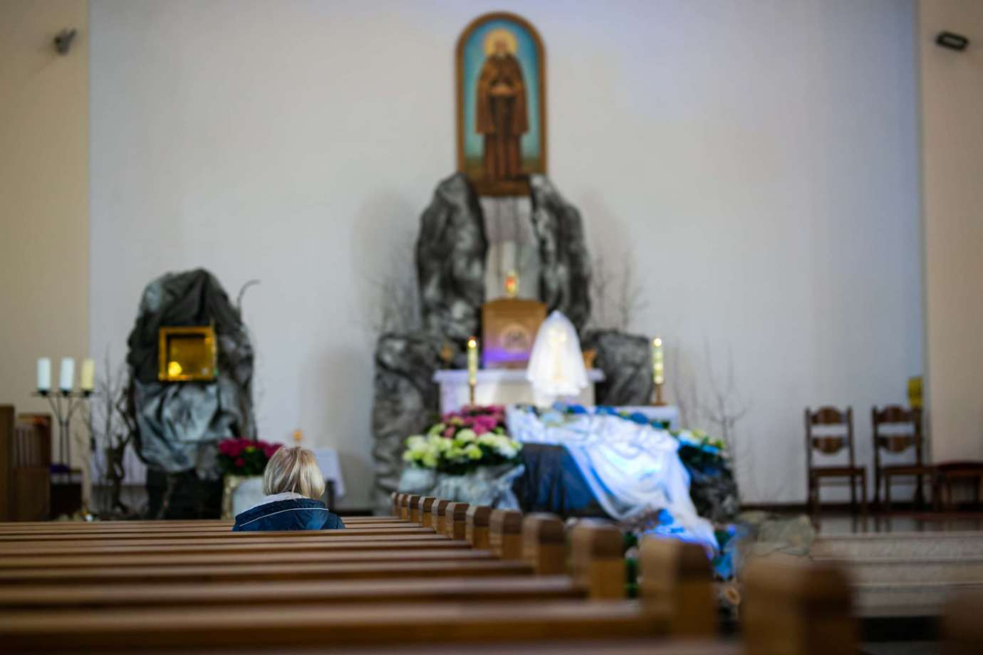 parafia pw swietego brata alberta w zamosciu 3 Zdjęcia grobów pańskich w zamojskich świątyniach