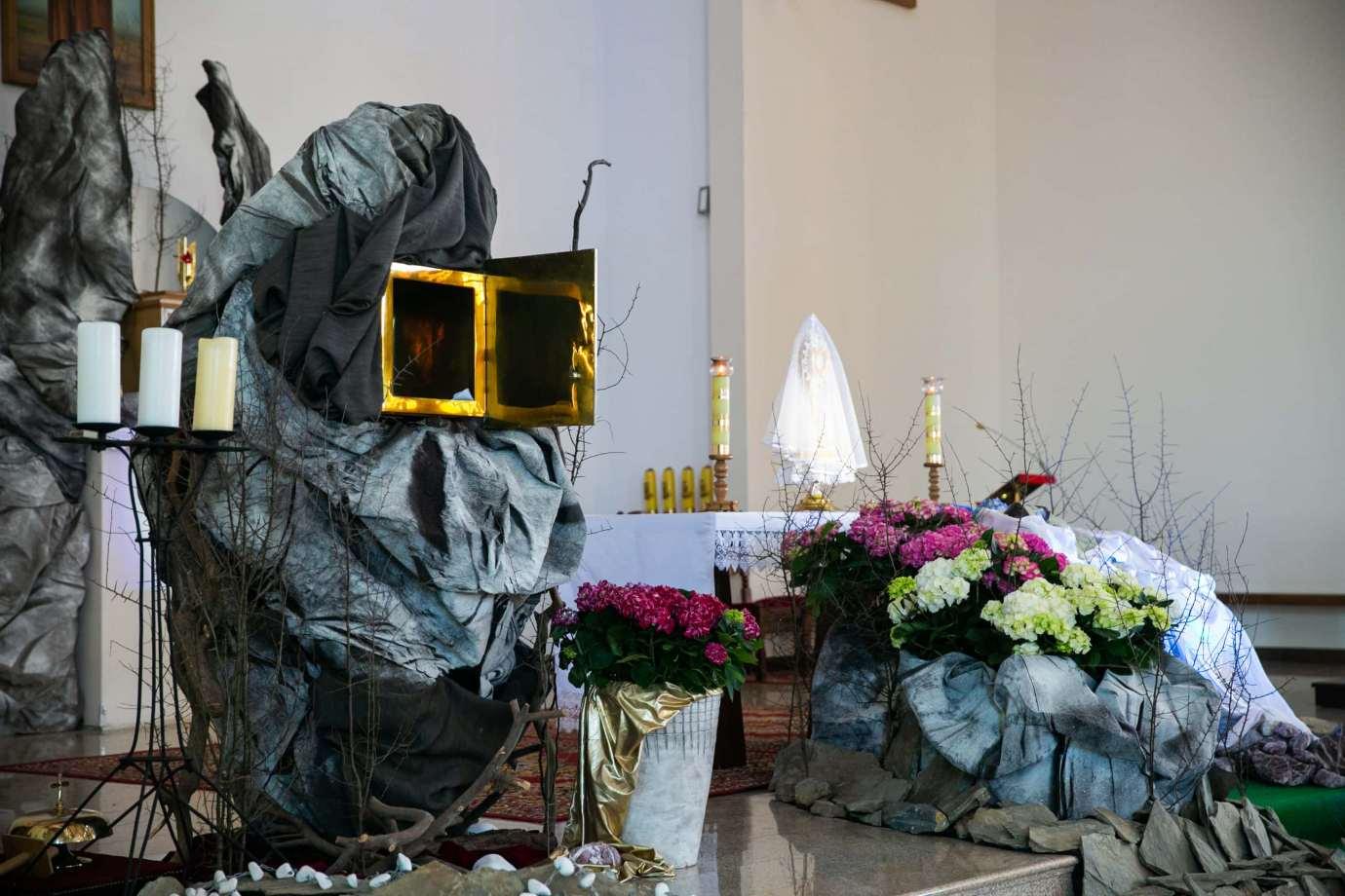 parafia pw swietego brata alberta w zamosciu 9 Zdjęcia grobów pańskich w zamojskich świątyniach