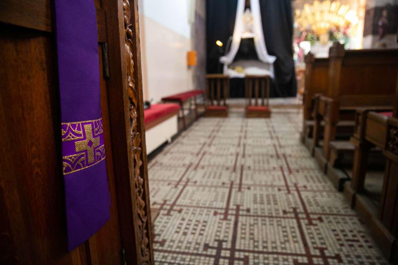 parafia pw swietego krzyza w zamosciu 11 Zdjęcia grobów pańskich w zamojskich świątyniach